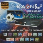 Receiver Kaonsat IMAX 899 HD Support GSM Telkomsel