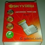 LNB KU Band Offset Skyview Dual Out