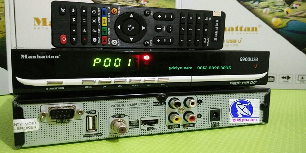 Receiver PowerVu,Manhattan USB6900 ,Receiver HD
