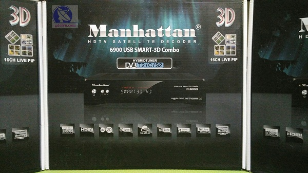 Receiver Parabola,receiver PowerVu, Manhattan Smart3D Combo;