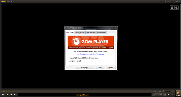 Web Server,GomPlayer,Receiver HD